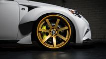 Lexus unveils their DeviantArt design challenge IS 350 F SPORT at SEMA