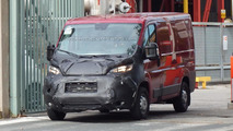 Fiat Ducato, Citroen Jumper, Peugeot Boxer and Ram ProMaster facelift spied