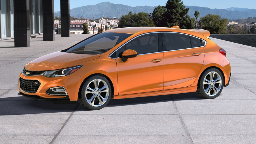 2017 Chevrolet Cruze Hatchback starts at $22,190