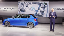 2015 Skoda Fabia live in Paris