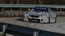 BMW drops more photos of M6 GT3, tested in Spain and Portugal