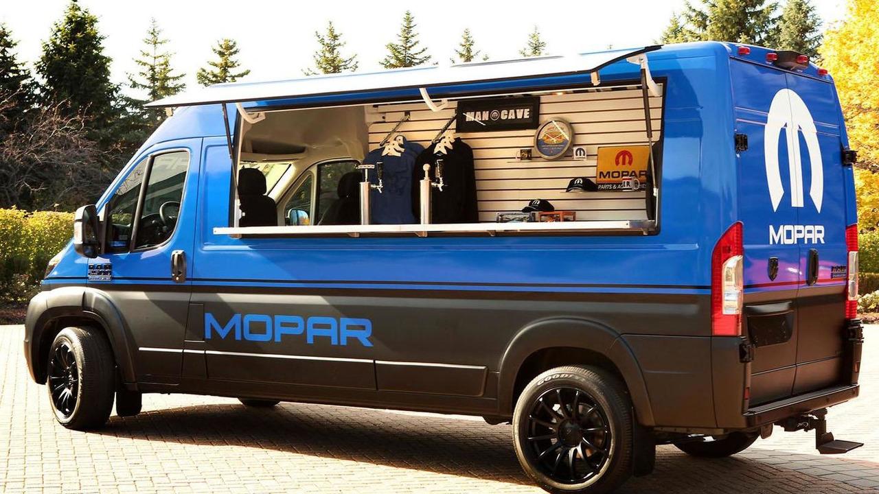 Ram ProMaster Hospitality Van concept