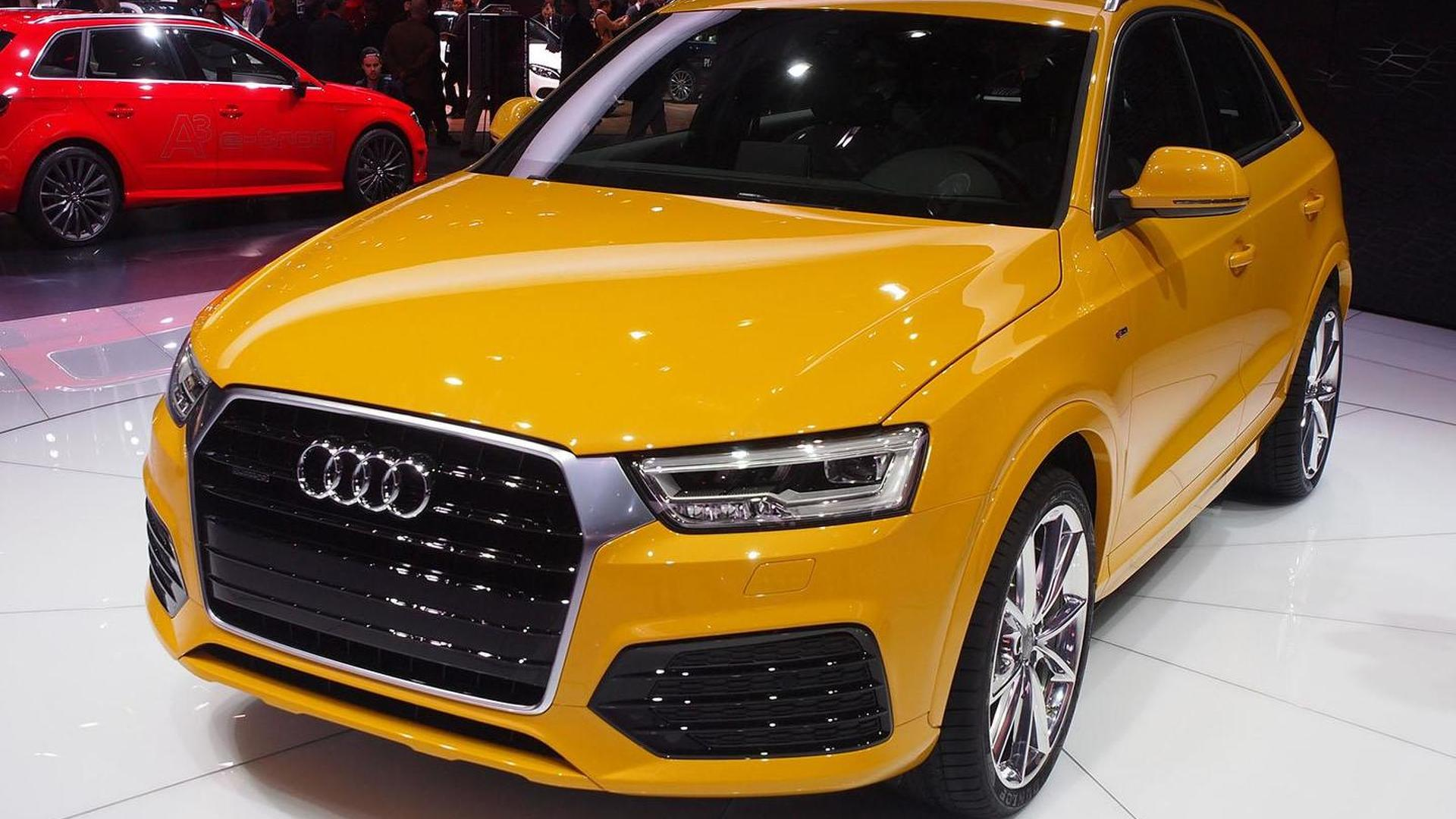 2016 Audi Q3 facelift arrives in Detroit