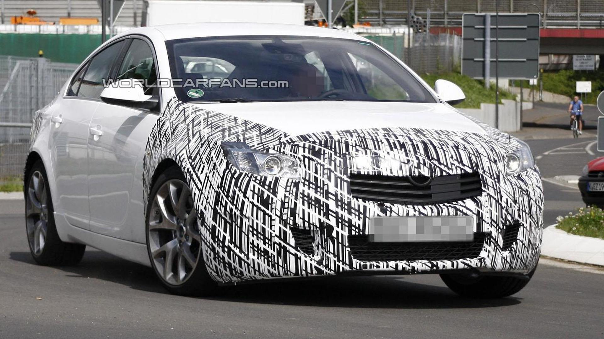 Opel is working on a hotter Insignia OPC - report