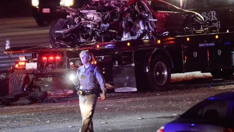 Intoxicated driver destroys a Lamborghini Murcielago