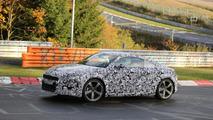 2015 Audi TT spy photo