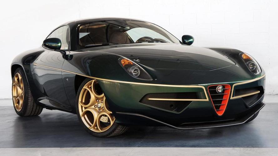Touring Superleggera Disco Volante gets fresh paint for Geneva