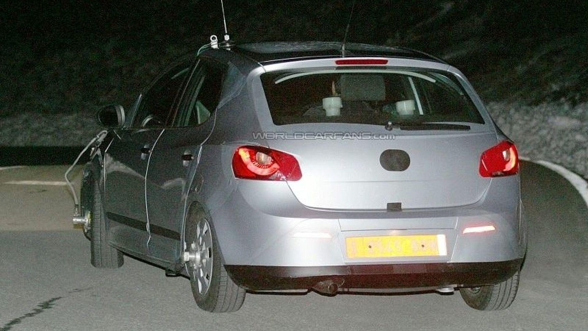 Next-Generation Seat Ibiza Spied