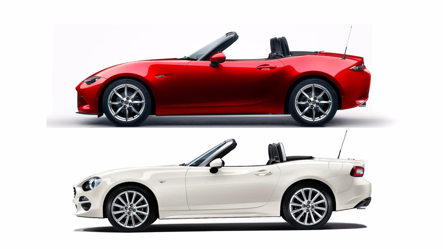 Fiat 124 Spider and Mazda Miata in shockingly tight sales race