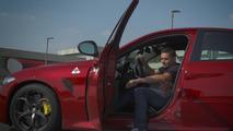 VIDÉO – Fisico prend le volant de l'Alfa Romeo Giulia QV
