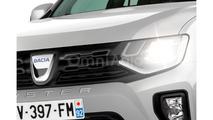 2017 Dacia Duster rendering