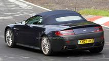 Aston Martin V12 Vantage Roadster Spied at Nurburgring