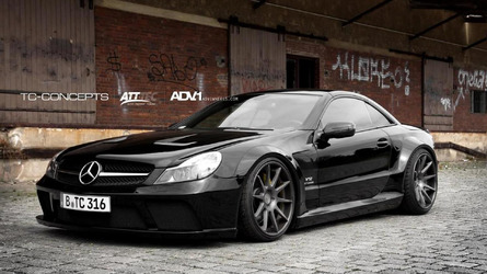 Mercedes SL65 AMG gets Black Series conversion by TC-Concepts