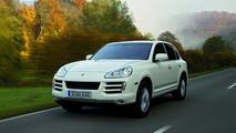 Porsche Cayenne with diesel engine