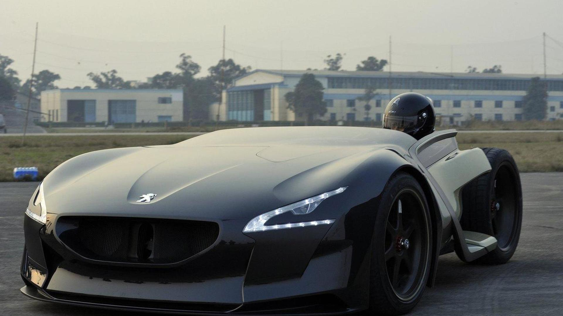 Peugeot EX1 sets electric car record on the Nürburgring
