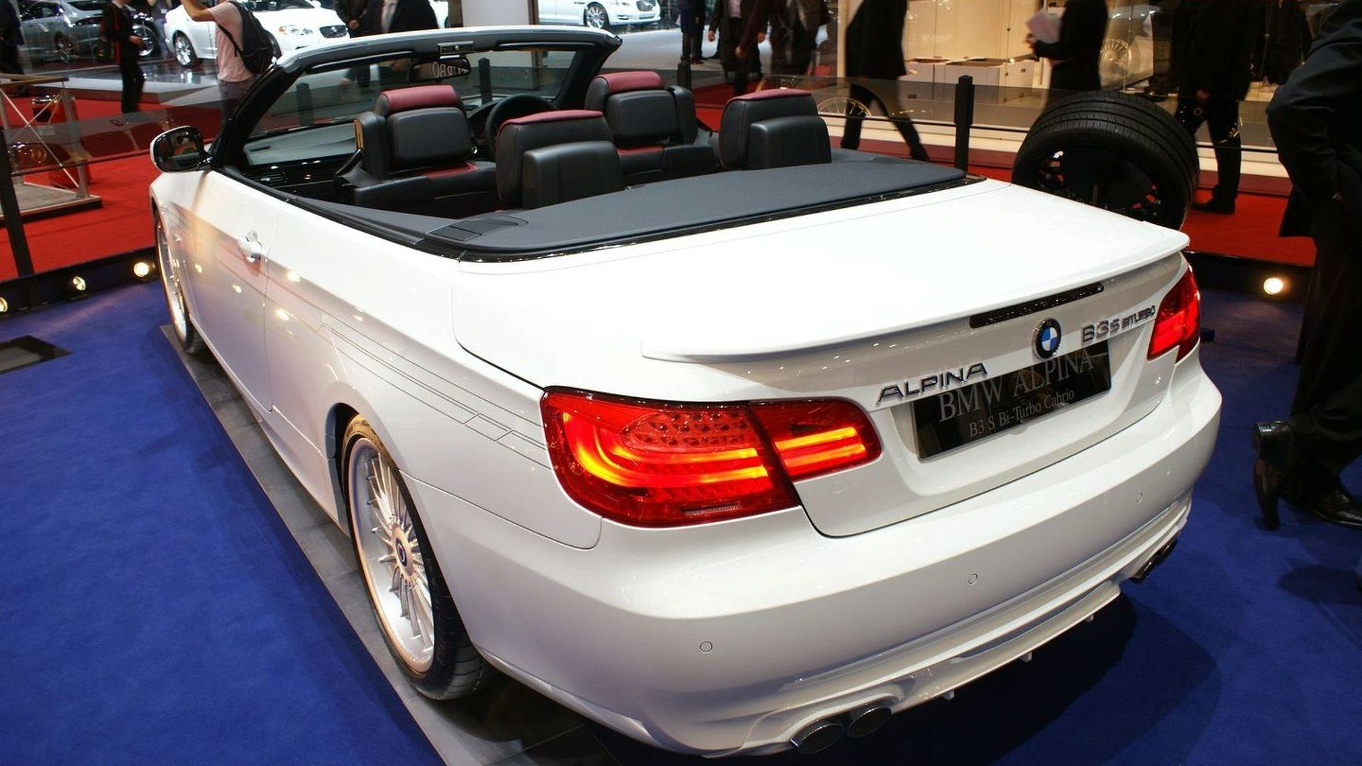 bmw alpina b3 s biturbo revealed in geneva with 400 ps. Black Bedroom Furniture Sets. Home Design Ideas
