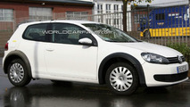 VW Golf VII test mule spy photo 09.30.2009