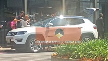 Jeep Compass 2017 photos espion