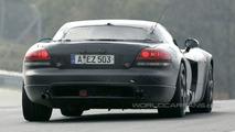 More Mercedes Gullwing Spy Photos