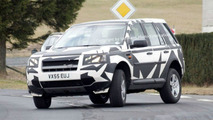 Land Rover Freelander on the Road Spy Photos