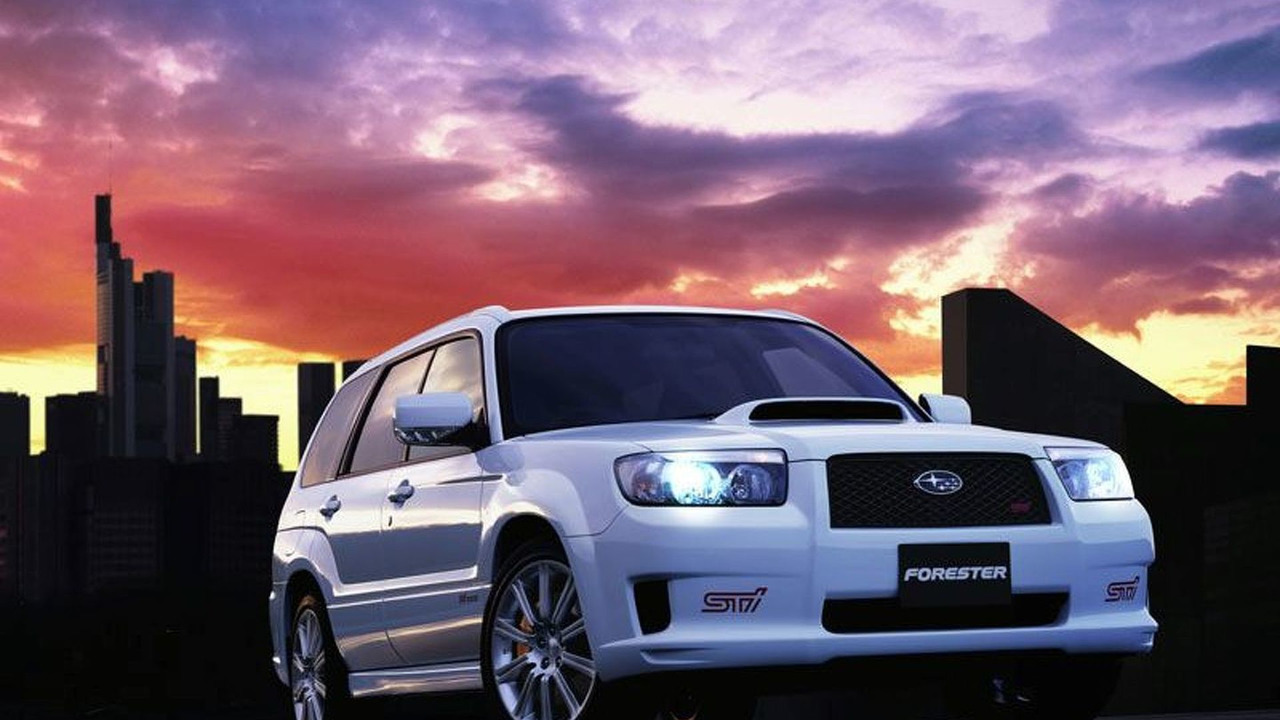 New Subaru Forester STI Version
