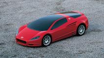 Alessandro Volta Hybrid Coupé Concept