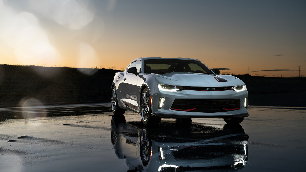 Chevy Camaro RS with Chevy Performance Parts