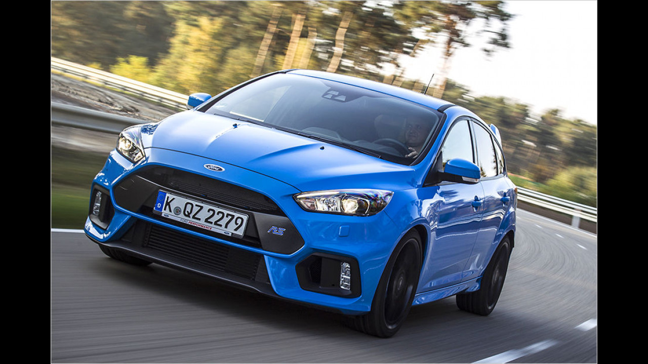 Top: Ford Focus RS