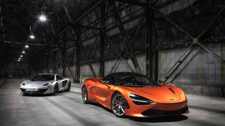 Mclaren 720S production
