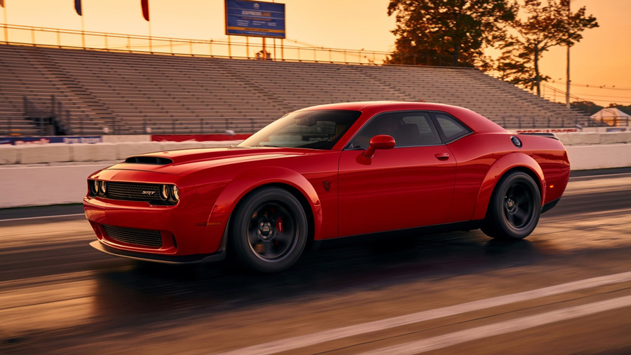 2018 Dodge Challenger SRT Demon Leaked Image