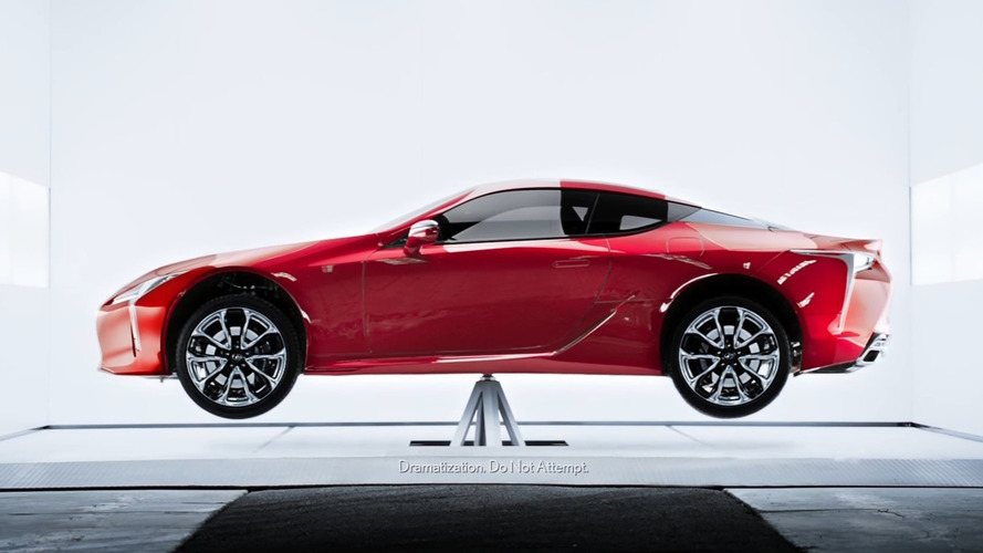 2018 Lexus LC Looks Quite Balanced In New Ad