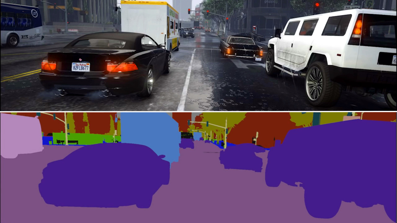 Scientist adapt GTA to teach self-driving cars how to drive