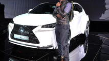 Lexus NX by will.i.am revealed with wide body kit