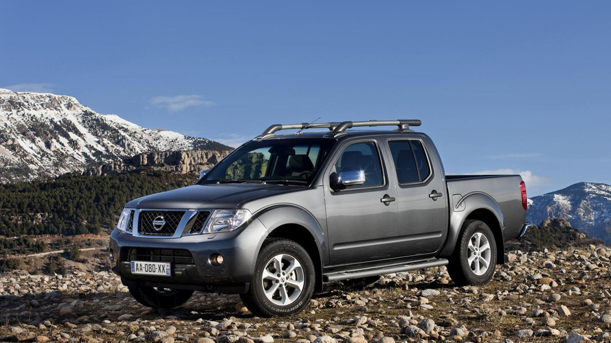 Old Nissan Navara facelifted for Europe
