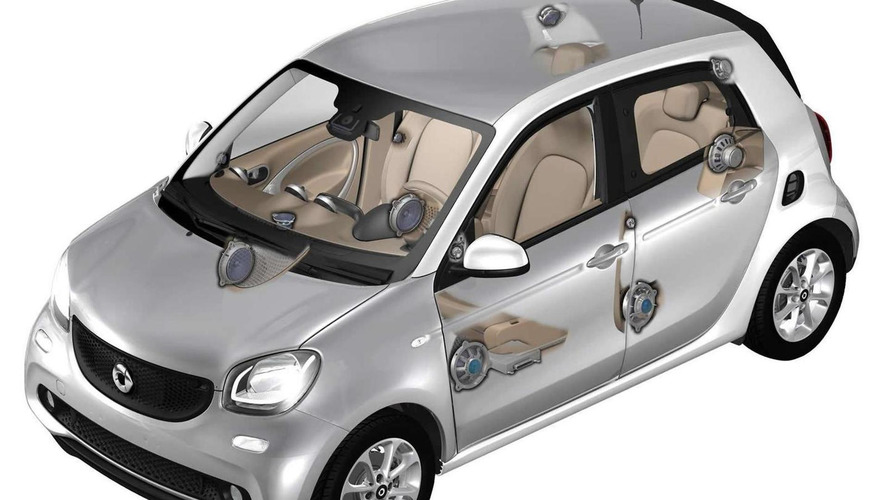 All-new Smart ForTwo and ForFour further revealed by Harman