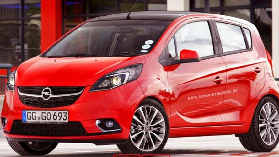 Opel Karl render shows what to expect