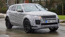 2019 Range Rover Evoque spy photos