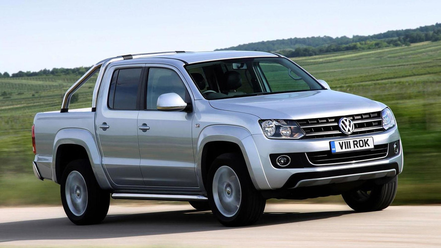 2013 Volkswagen Amarok gains an upgraded engine, optional BlueMotion technology