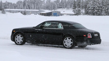 2013 Rolls Royce Phantom Coupe facelift spied