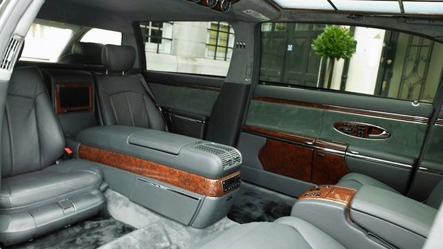 Maybach 62 gets stretched to 72