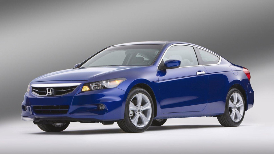 2011 Honda Accord facelift coupe and sedan announced in U.S.