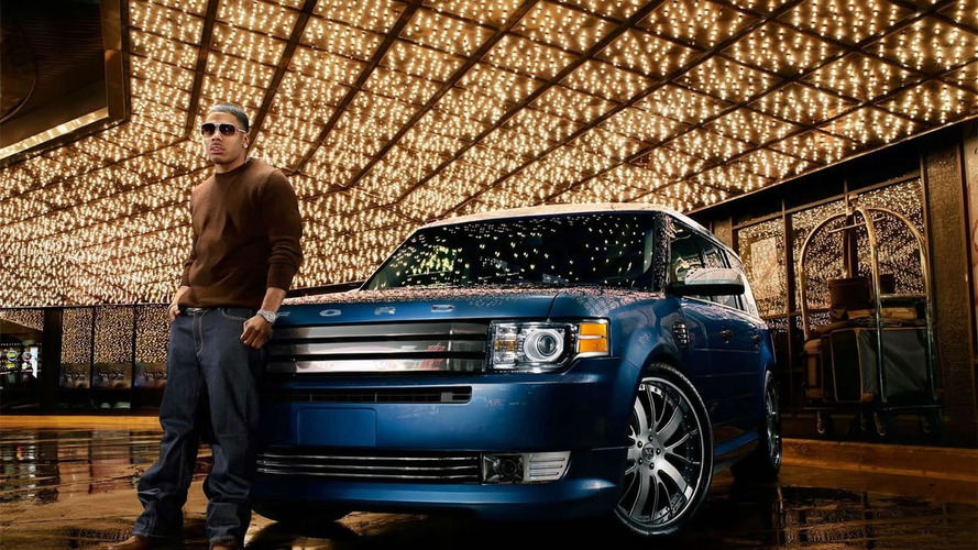 Nelly's Customized 2009 Ford Flex Unveiled at SEMA