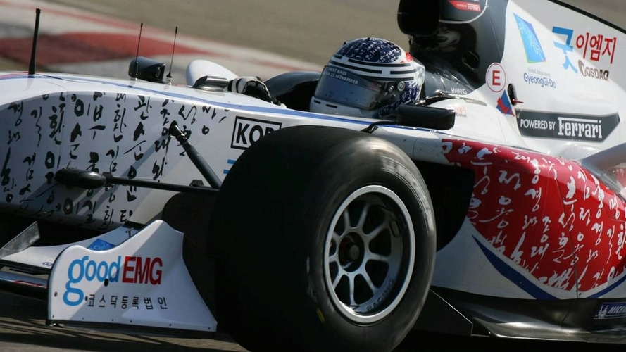 Korea takes another step towards F1 race