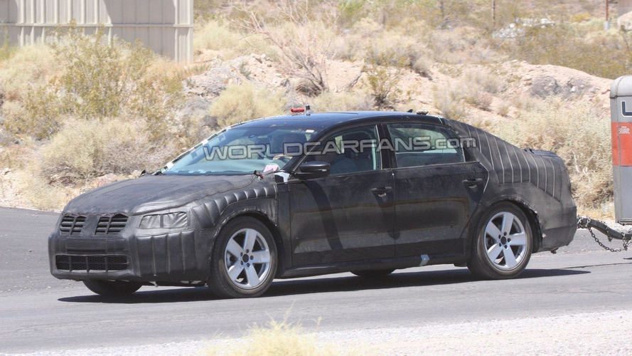 Volkswagen NMS for U.S. market spied in desert