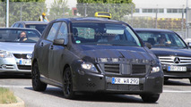 2012 Mercedes B-Class spied testing as taxi