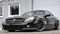 Mercedes SL-Class R230 widebody by Prior Design 31.05.2010