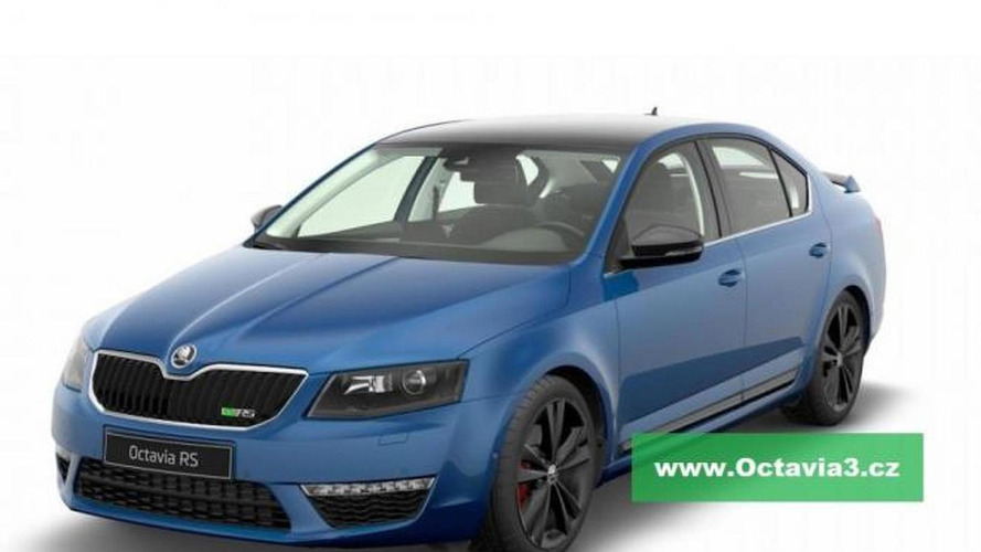 2013 Skoda Octavia RS leaked for a second time