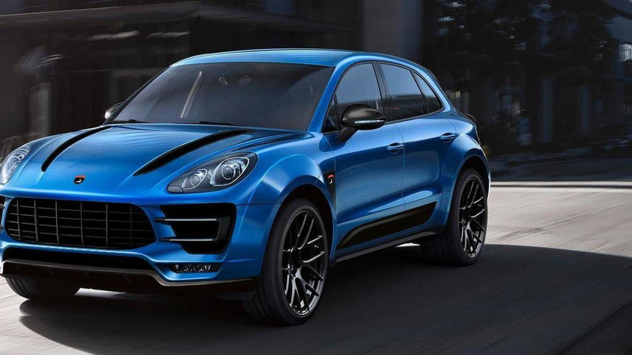 Porsche Macan already modified by TopCar