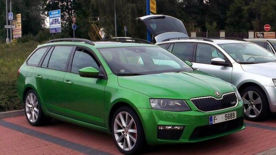 2013 Skoda Octavia RS Liftback and Combi photographed in parking lot