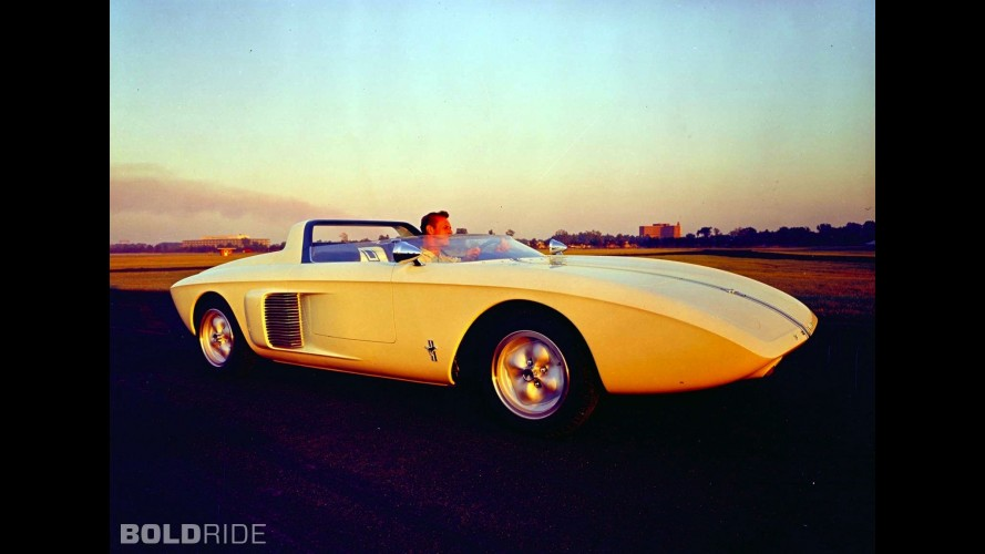 Ford Mustang Roadster Concept Car